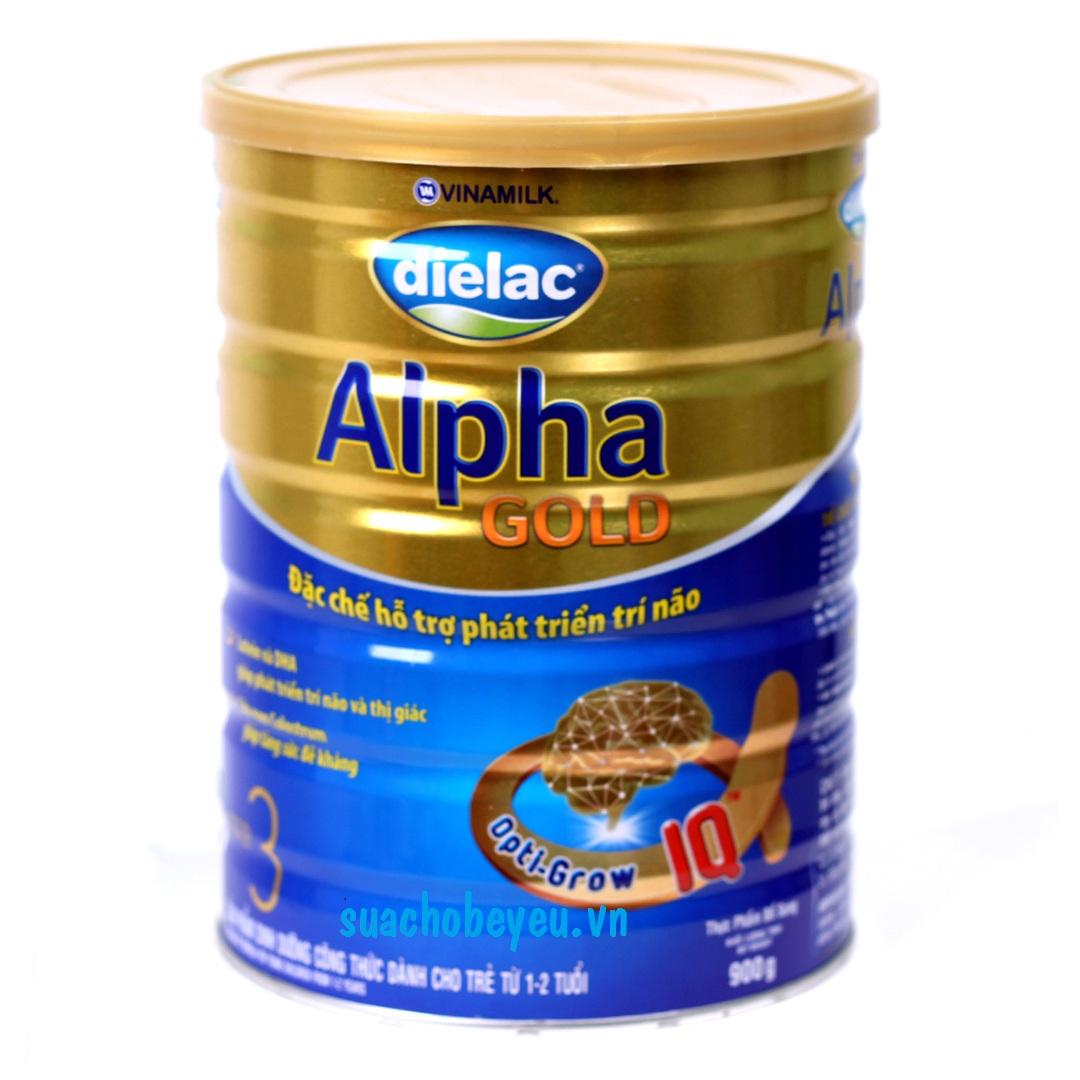 Sữa Dielac Alpha Gold Step 3 900g