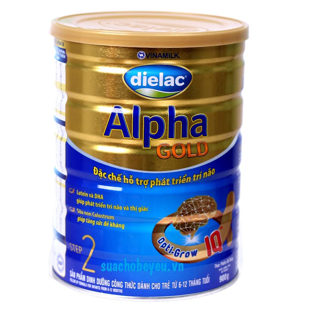 Sữa Dielac Alpha Gold Step 2 900g
