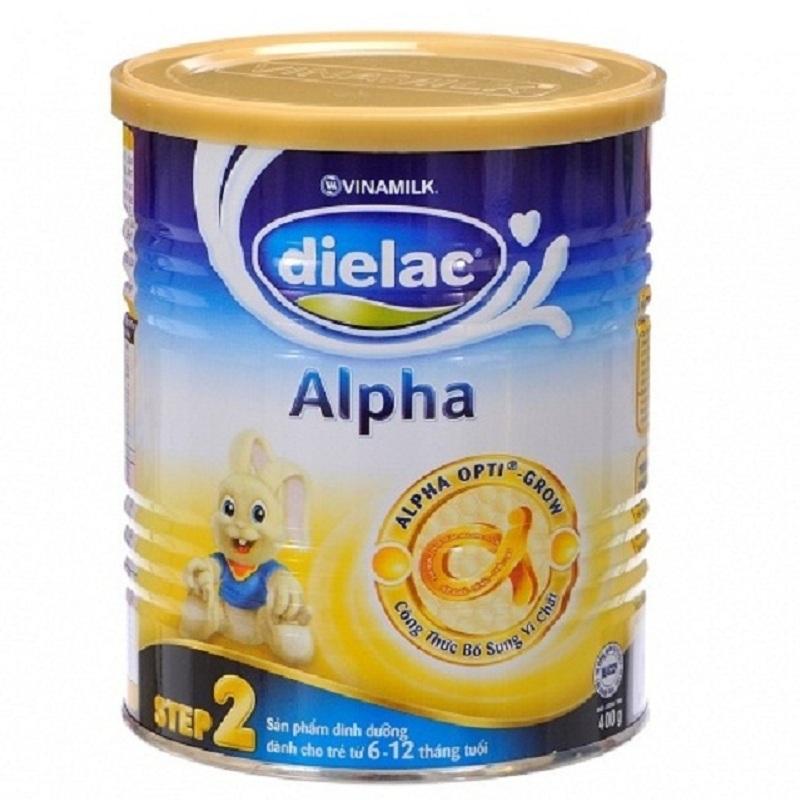Sữa Dielac Alpha Step 2 - Vinamilk - 400g