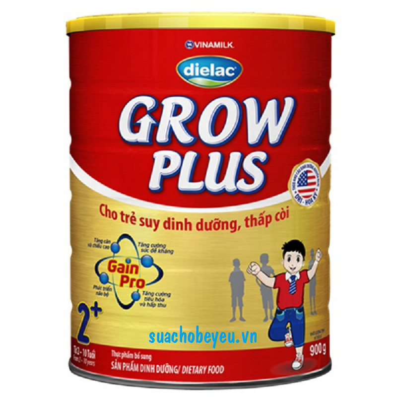 Sữa Dielac Grow Plus 2 - Vinamilk - 900g