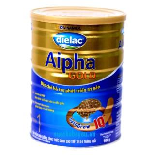 Sữa Dielac Alpha Gold Step 1 900g