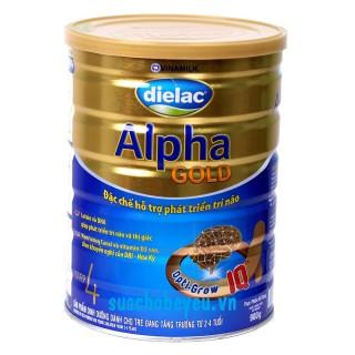 Sữa Dielac Alpha Gold Step 4 900g