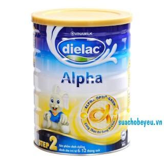 Sữa Dielac Alpha Step 2- Vinamilk - 900g